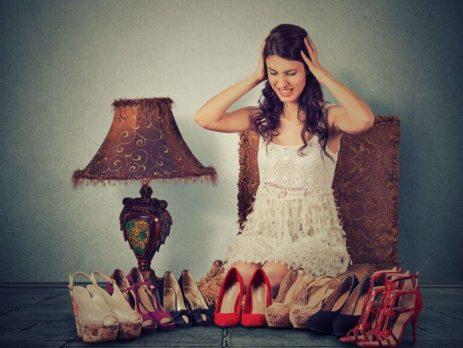 Női cipők sokasága