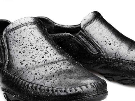Mennyire vízálló a bőr cipő?