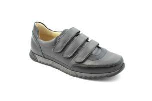 G&T férfi cipő - Aktív-T - Palaszürke-Fekete